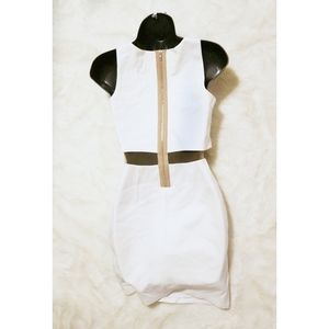 Bailey 44 Dresses - Bailey 44 | linebacker illusion white mini dress